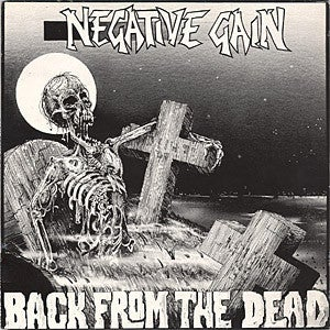 """Image of Negative Gain –""""Back From The Dead"""" LP"""