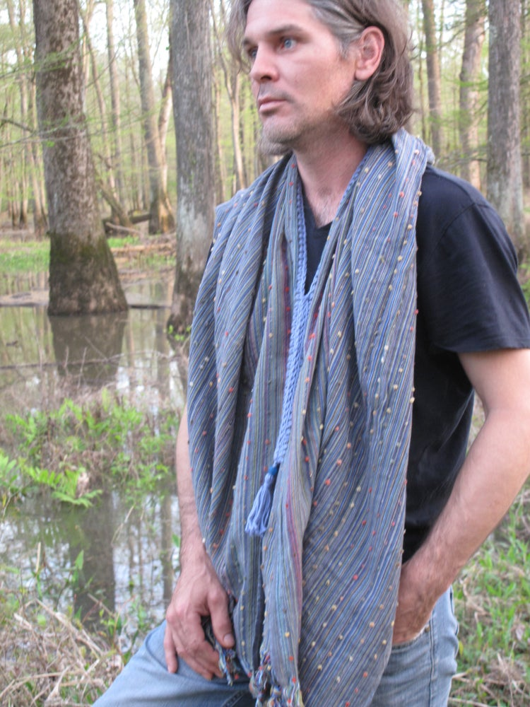 Image of Sky Recycled Cotton Poncho