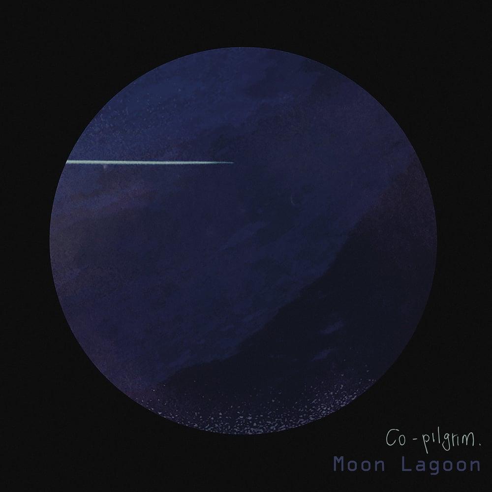 "Image of Co-pilgrim - 'Moon Lagoon' - Deluxe blue vinyl gatefold LP.     With bonus ""Co-vers"" album"