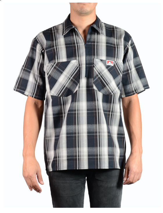 Image of New Ben Davis Plaid Shirts Short Sleeve