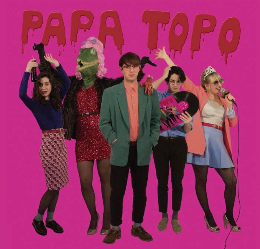 "Image of Bolsa + LP ""Ópalo negro"""