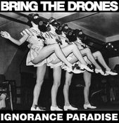 Image of BRING THE DRONES 'IGNORANCE PARADISE' LP (WOLFHOUR/DOOM/AGAINST ME!/DOMESTICS/ANTI-CIMEX)