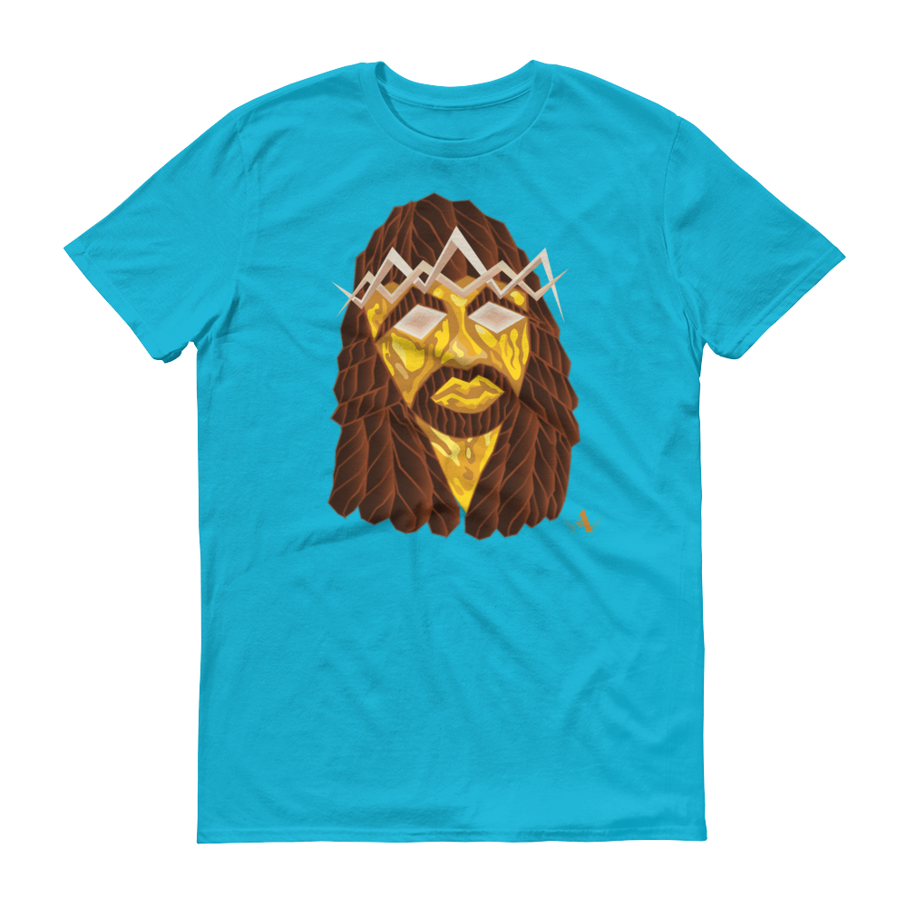 Image of Jesus Peace>Piece Graphic T-Shirt (Gold Face Edition)