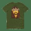 Jesus Peace>Piece Graphic T-Shirt (Gold Face Edition)