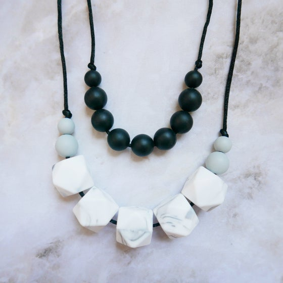 Image of Raven Teething Necklace