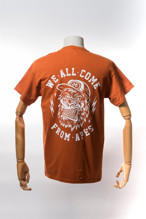 Image of Monkey Climber APE shirt I Rust