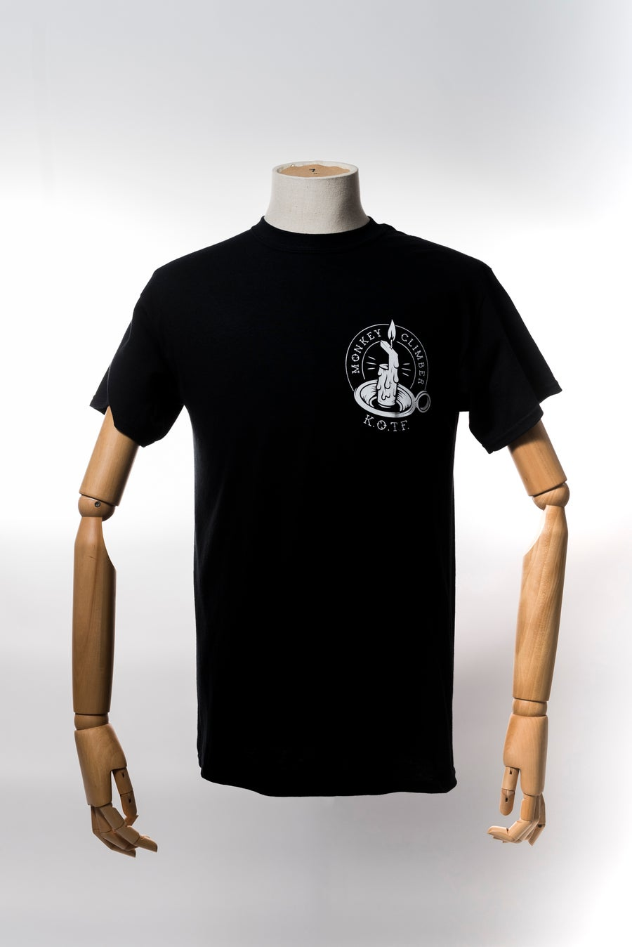 Image of Monkey Climber Keepers of the Faith shirt I Black - Burgundy - Grey