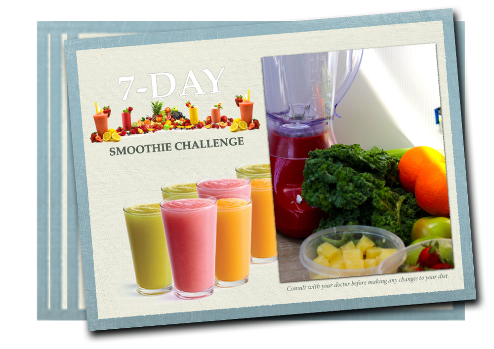 7-DAY SMOOTHIE CHALLENGE