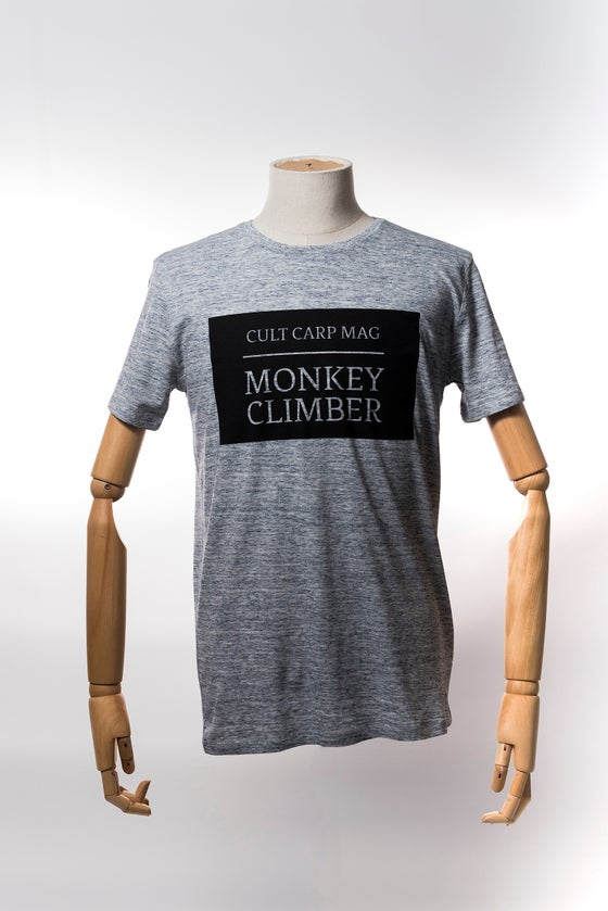 Image of Monkey Climber Cult shirt I Slub Heather Blue