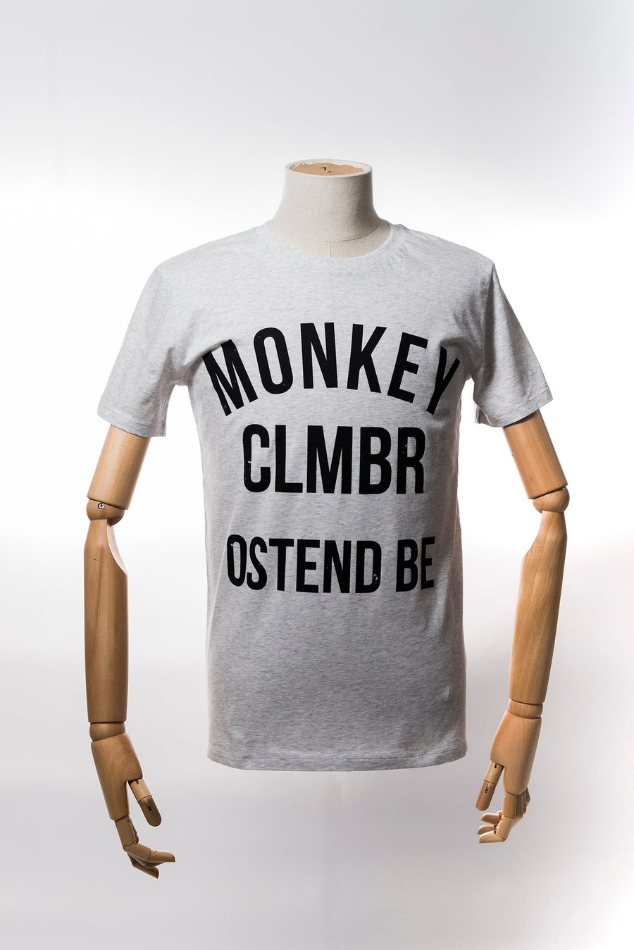 Image of Monkey Climber Ostend shirt I Heather Ash