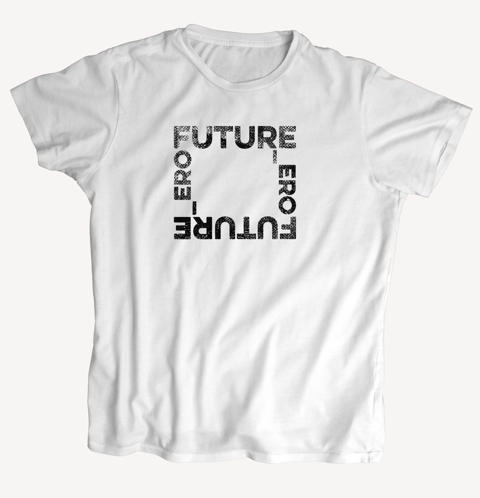 "Image of T-Shirt ""FUTURE"" - handprinted with love"