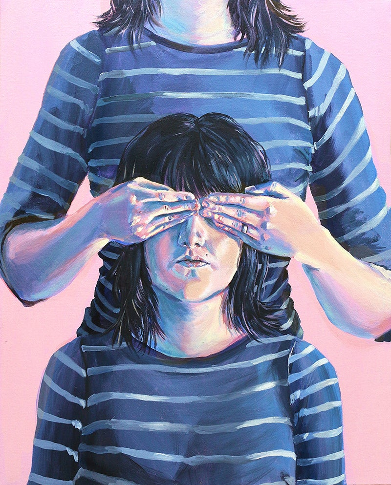 """Image of """"Not Seeing Double"""" 8 x 10 Giclee Print Archival Matte"""