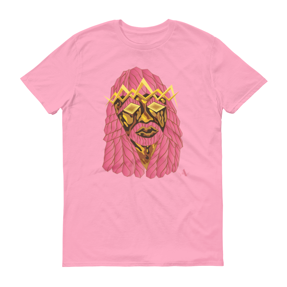 Image of Jesus Peace>Piece Graphic T-Shirt (Lightning Pink Edition)