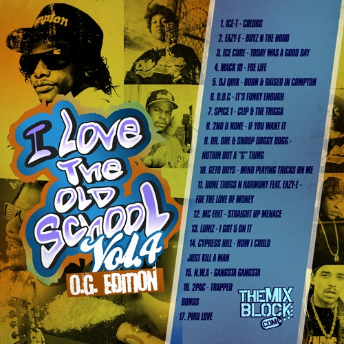 Image of I Love Old School 4