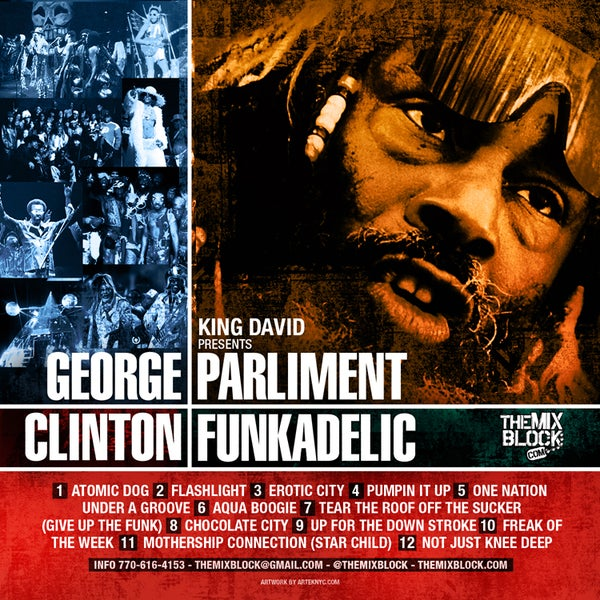 Image of George Clinton & Parliment Funkadelic