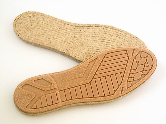 Image of espadrille soles - M13 - MEN - LARGE SIZES - 42 to 46 EU sizes