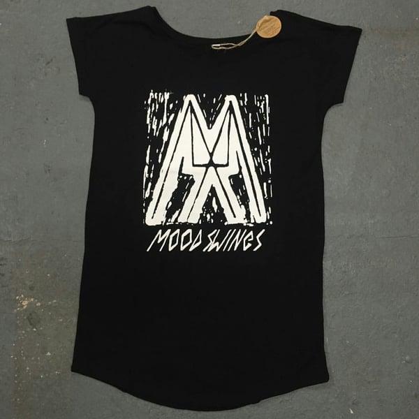 Image of MOOD SWINGS TEE SHIRT DRESS
