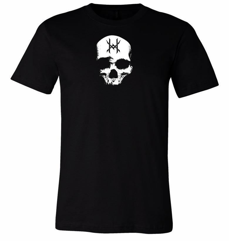 Image of Ten Horns Skull Logo Shirt