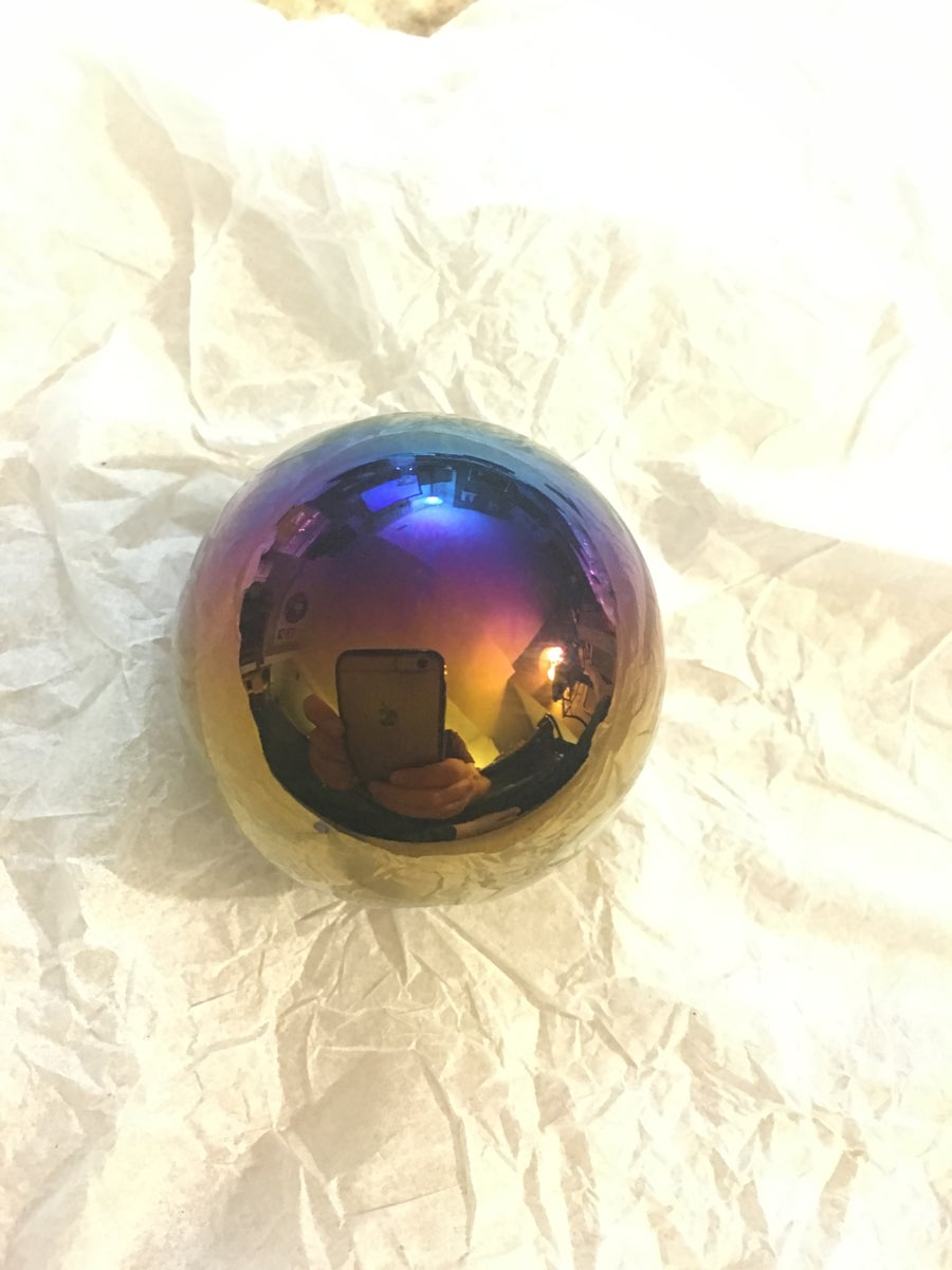 Image of TiBurnt Titanium Sphere Shift Knob
