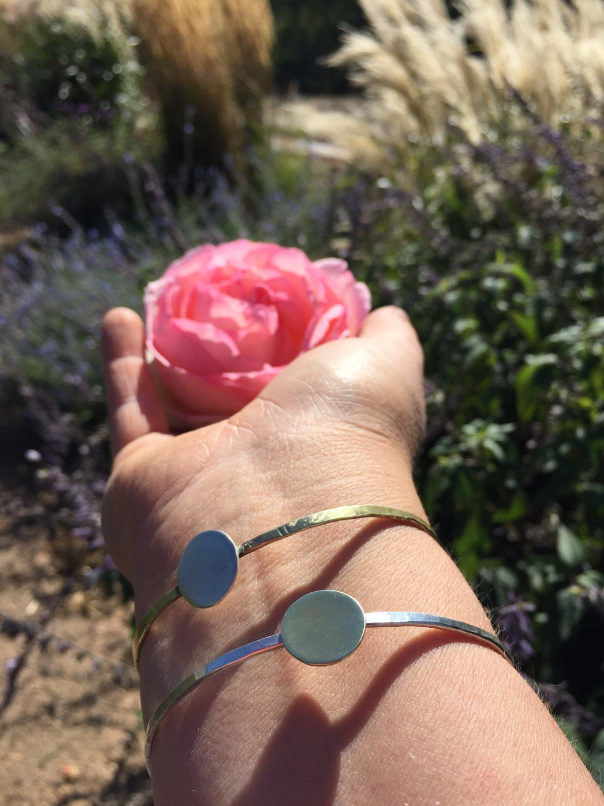 Warrior Woman Sun and Moon Bracelets