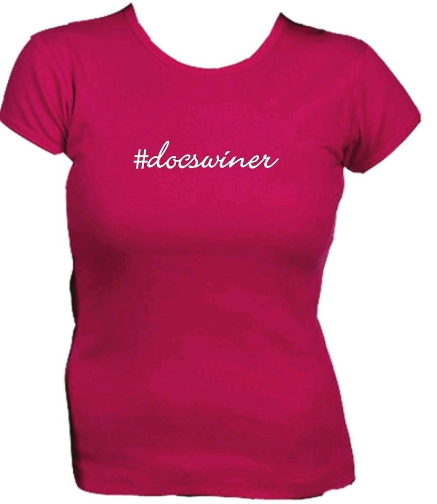 Image of #docswiner logo tee!