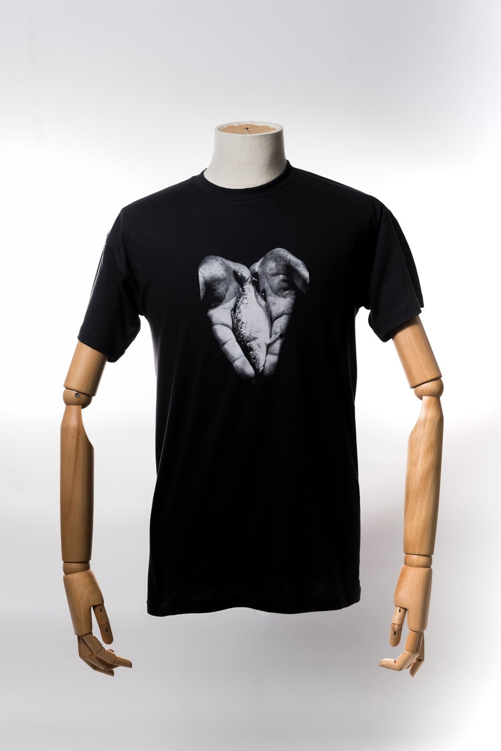 Image of Monkey Climber Hand of Hope shirt I Used Black - Used Burgundy