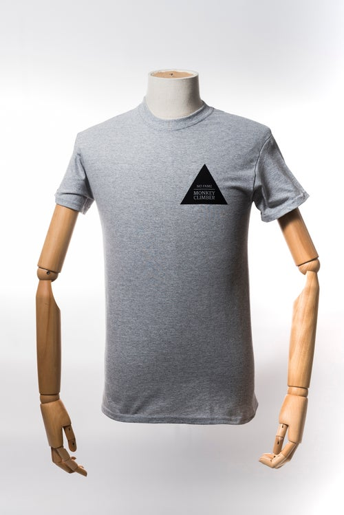 Image of Monkey Climber Fresh Wave shirt (short & long sleeve) I Heather Grey