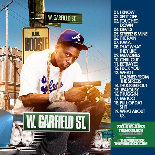 Image of Lil Boosie: W. Garfield St.