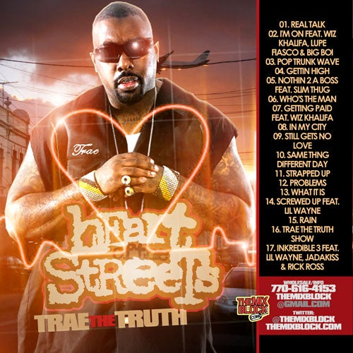 Image of Trae The Truth: Heart Of The Streets