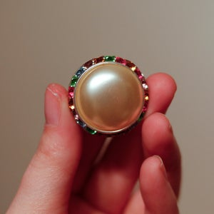 Image of Colorful Pearl Plugs (sizes 7/8-1 1/8)
