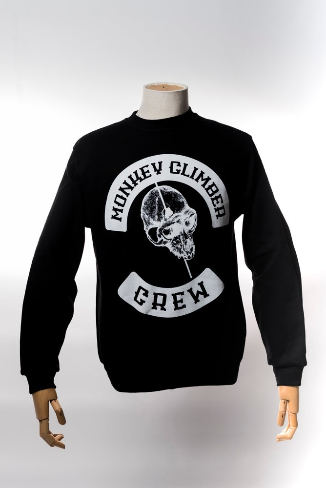 Image of Monkey Climber Pitboss crewneck I Black
