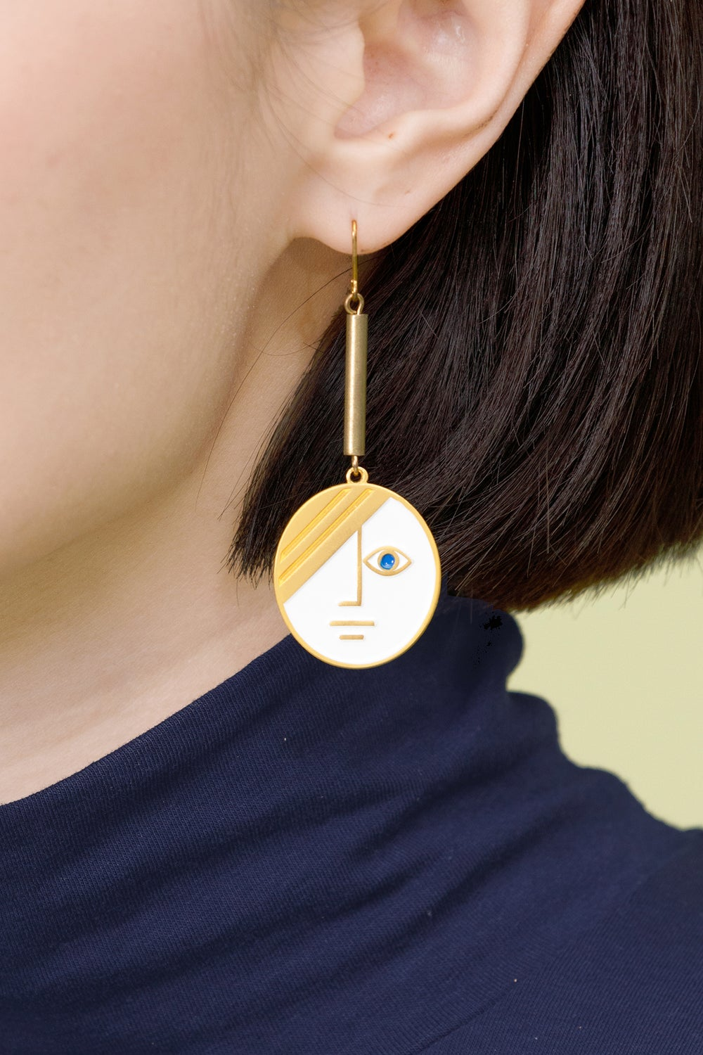 Large Phase Earrings • Stainless steel