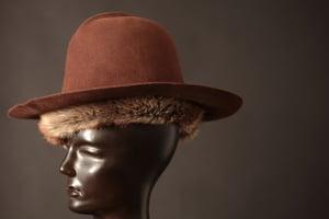 Image of Brown (faux) Fur