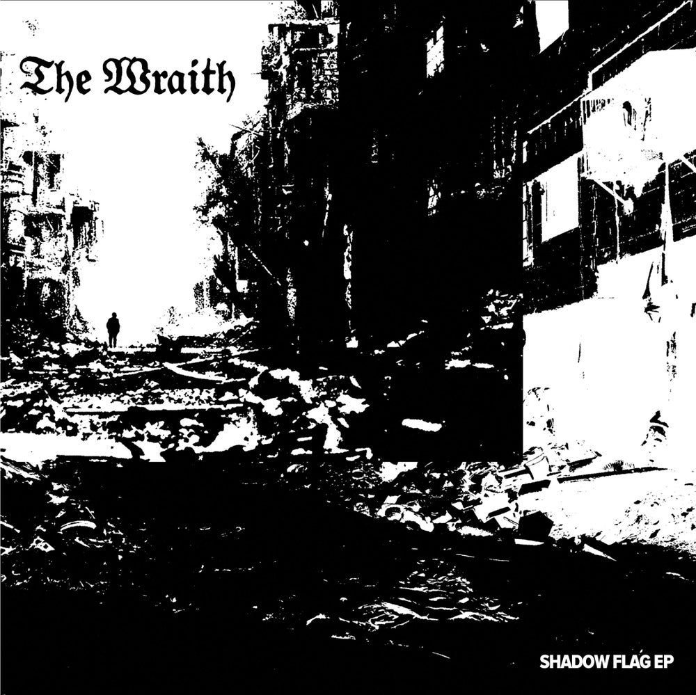 Image of The Wraith - Shadow Flag 7""