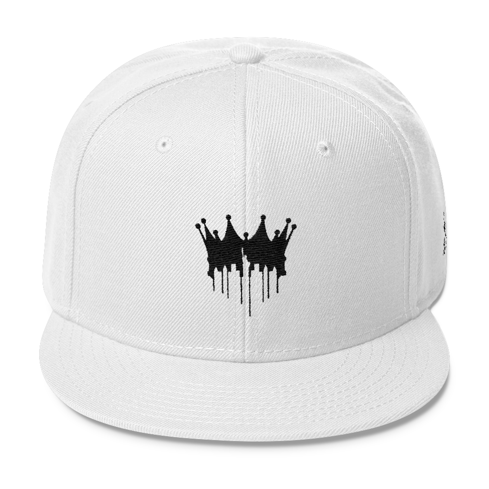 Image of CITY OF KINGZ - WHITE AND BLACK SNAPBACK