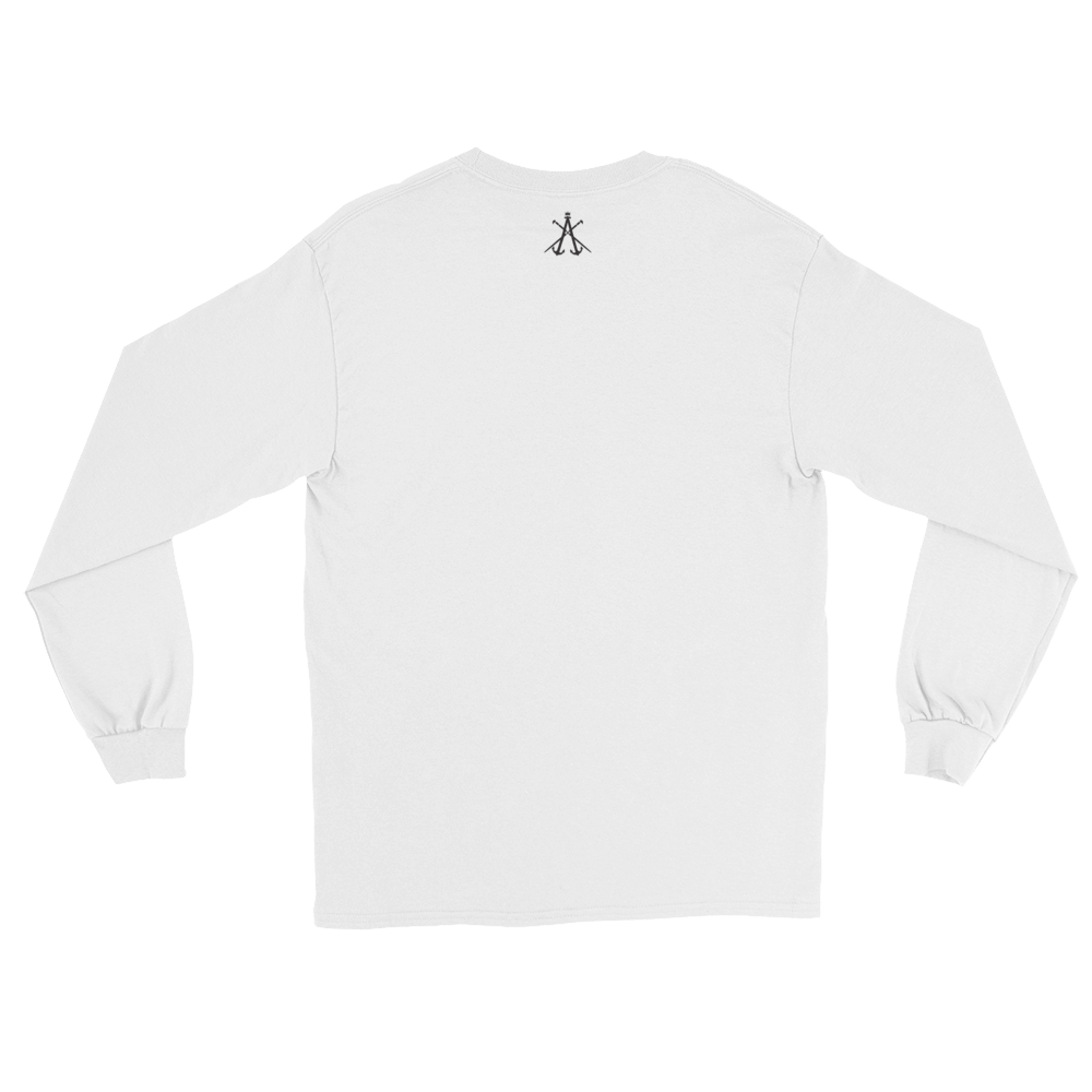 Image of CITY OF KINGZ WHITE AND BLACK CREWNECK SWEATSHIRT