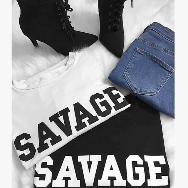 Image of Savage crop top