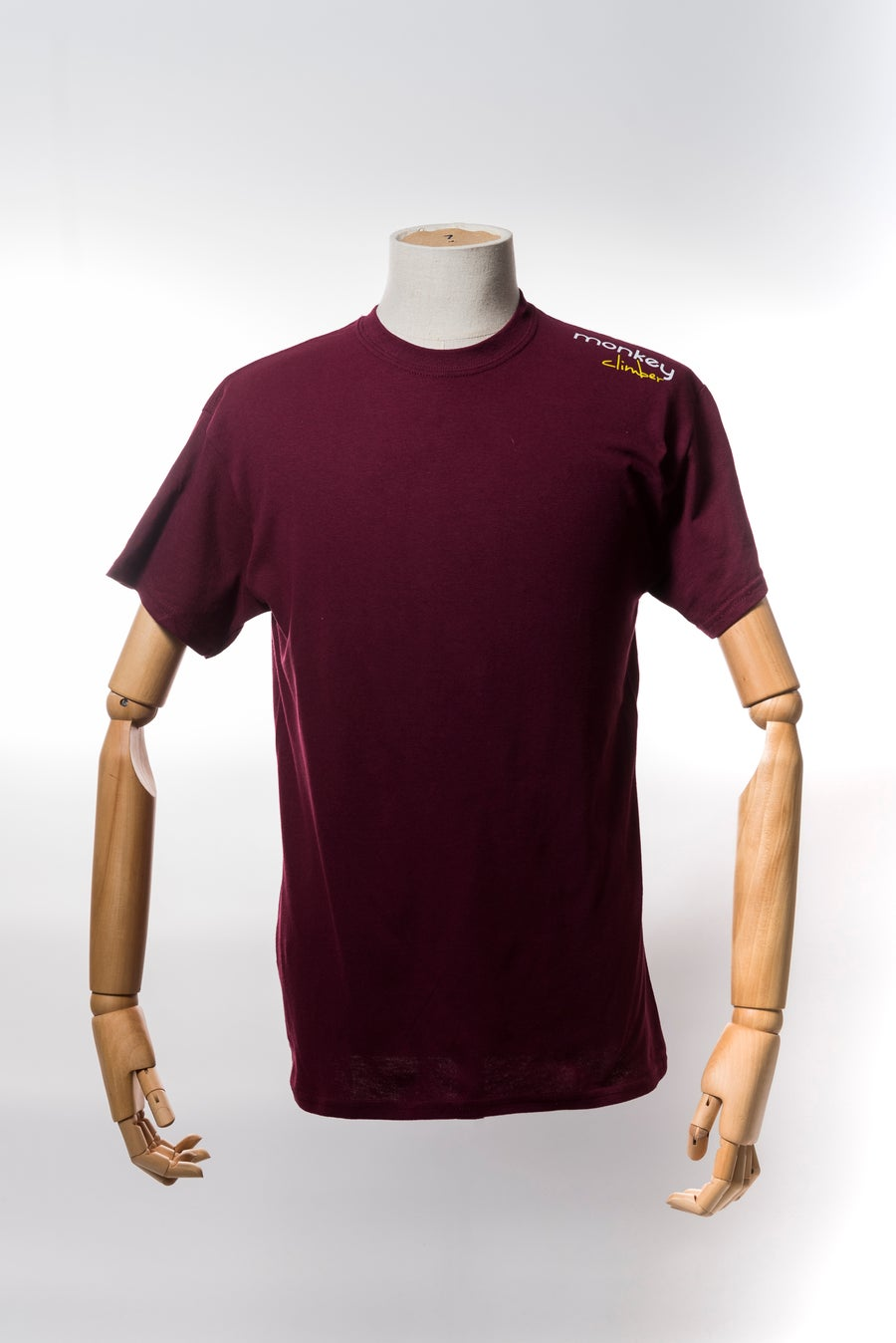 Image of Monkey Climber Streetwise shirt I Burgundy