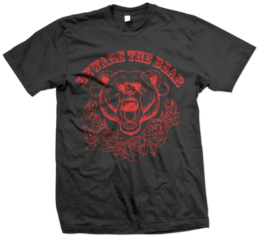 Image of Beware The Bear - Band Tee (Black)