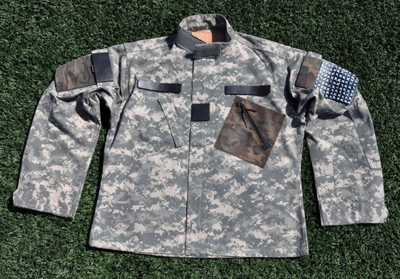 Image of ART OF WAR (1 of 1 Custom Jacket) Army 4