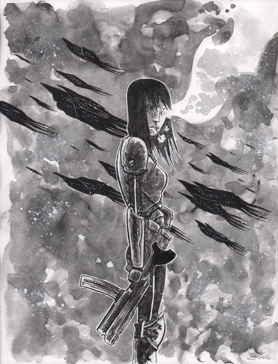 Image of BLACKHOLERS #1 FIRST PRINTING Cover Art