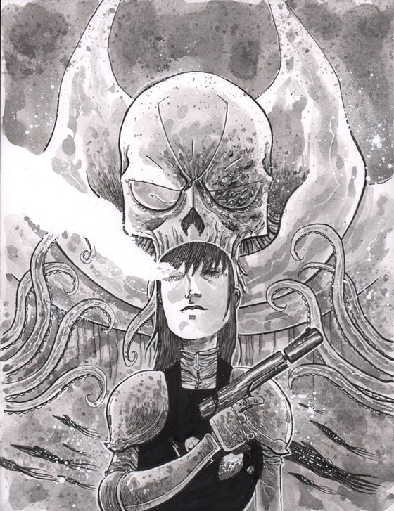 Image of BLACKHOLERS #3 FIRST PRINTING Cover Art