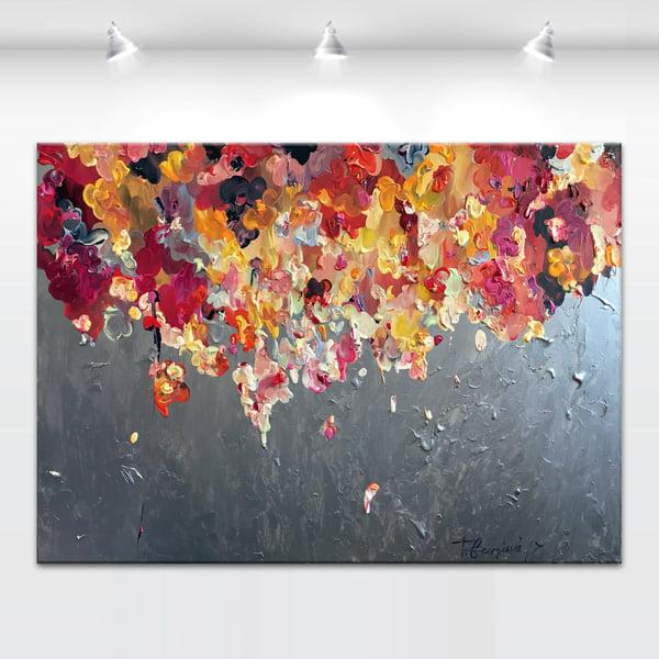 Image of Donum flores - 120x90cm