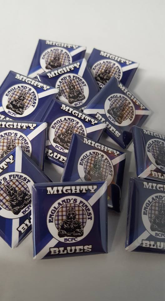 Birmingham City, Mighty Blues, Englands Finest Brand new 25mm Football Badges.