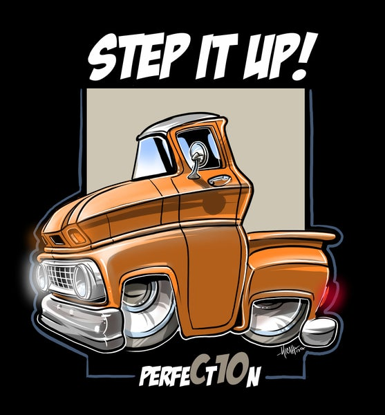 Image of STEP IT UP ORANGE