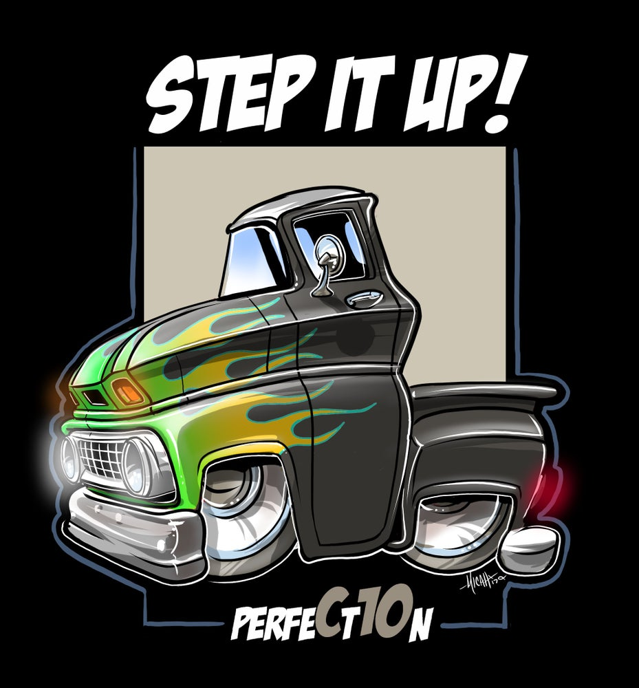 Image of STEP IT UP FLAMED!