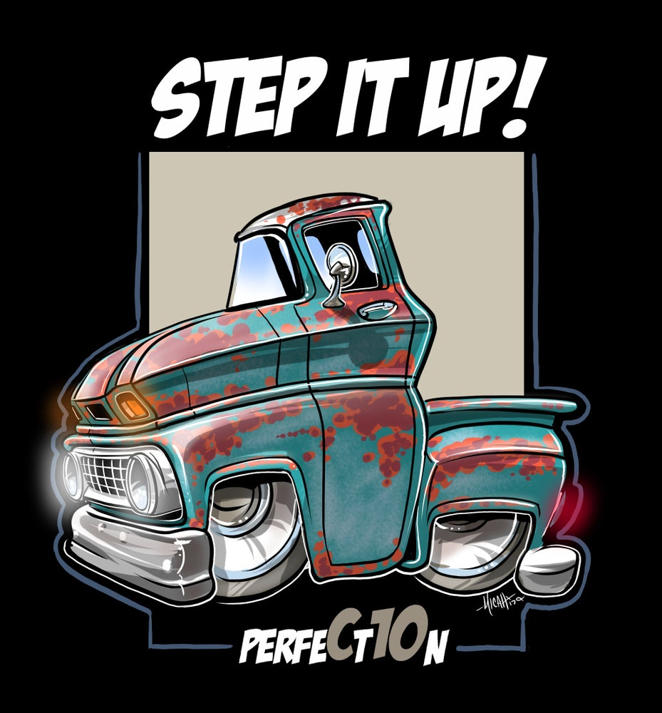 Image of STEP IT UP PATINA