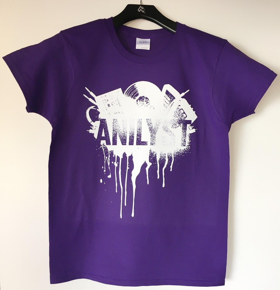 Image of Female Spray Paint Design Shirt (NEW)