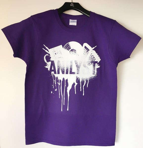 Image of Female 'Urban Design' T-Shirts (Purple)