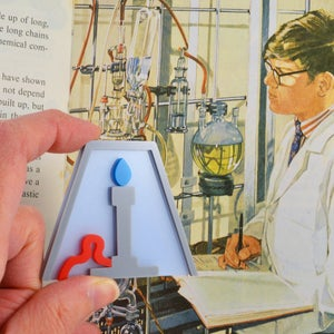 Image of Bunsen Burner Brooch